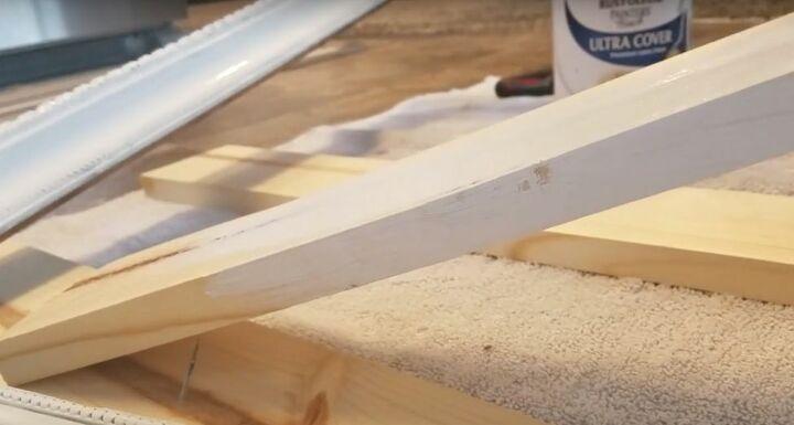 Paint the Wood Shelves