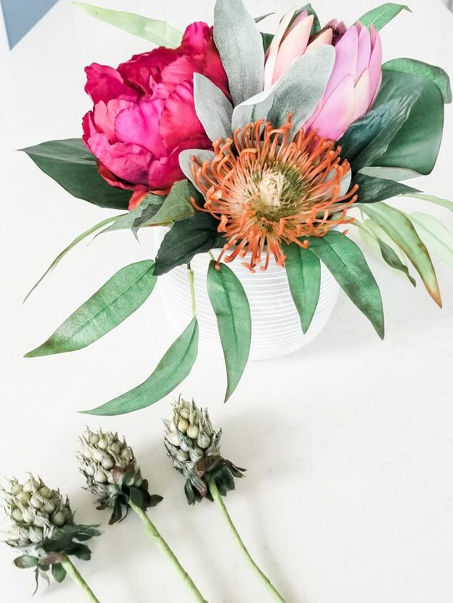 how to create an easy arrangement
