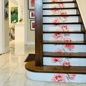 One-Hour Staircase Makeover