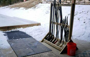 Ski / Hockey Stick Rack