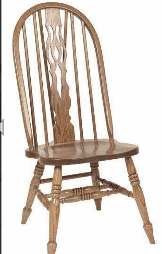q how to add fabric and padding to a bow back oak chair