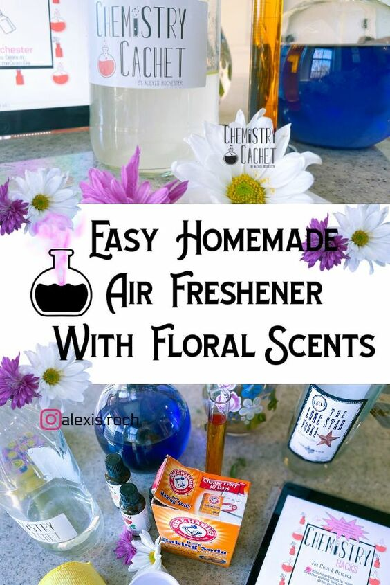 diy air freshener with floral scent