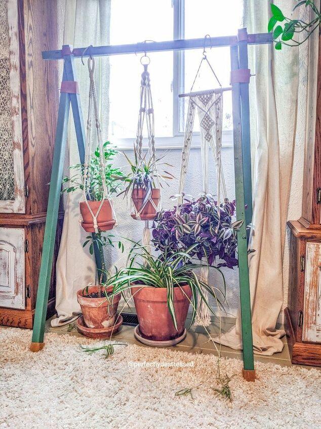 5 stick plant stand