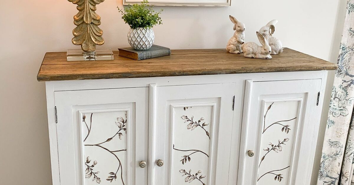 How To Decoupage With Fabric Diy Hometalk, How To Decoupage Kitchen Cabinets