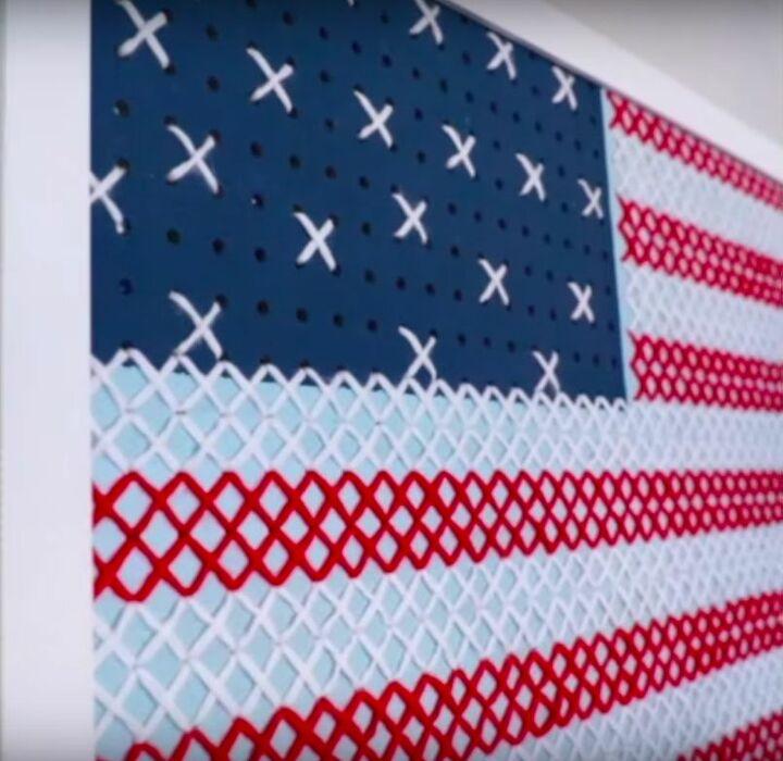 DIY Cross Stitch Wall Art