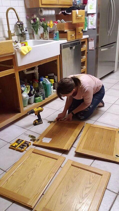 furniture hustlers kitchen cabinet refresh