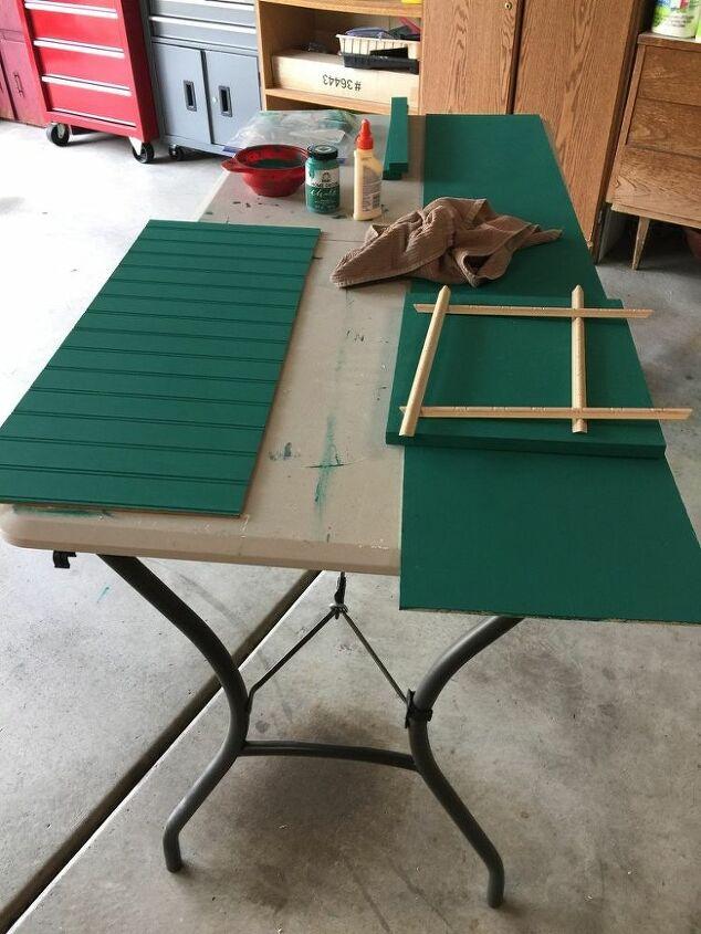 convert short shelves into a single unit