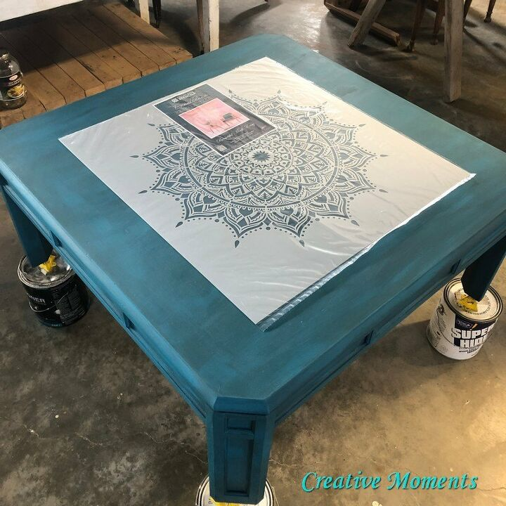 from boring to boho coffee table