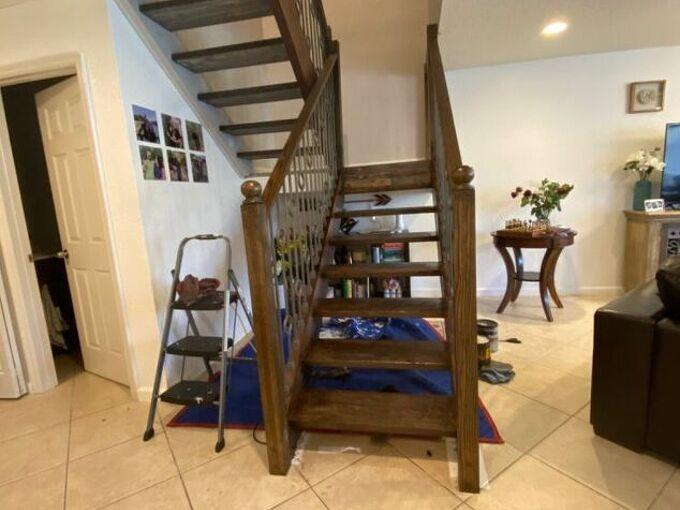 q staircase help