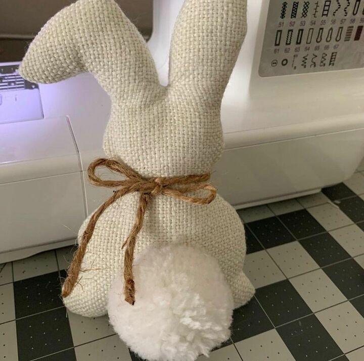 farmhouse fabric bunny