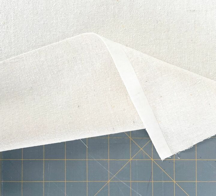 how to make removable no sew fabric book covers with labels