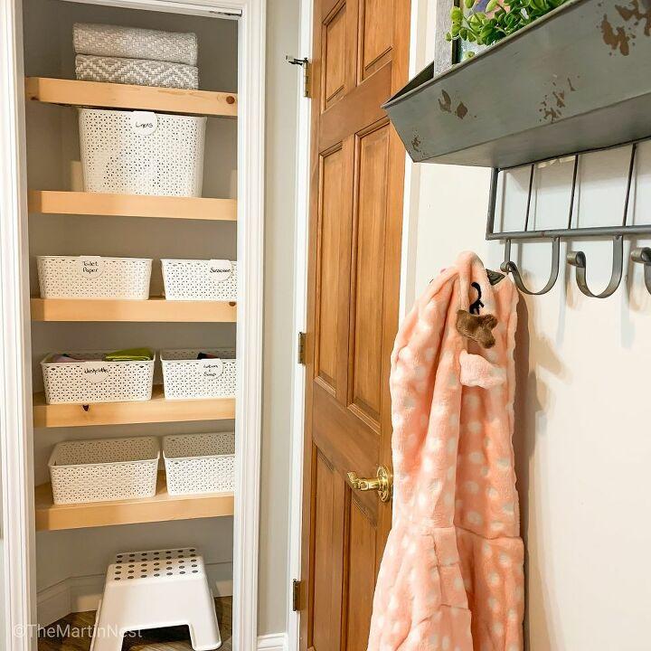 diy wire shelf covers
