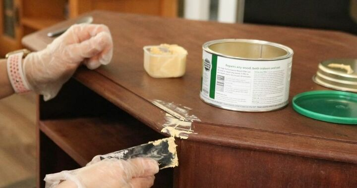 how to paint furniture quickly
