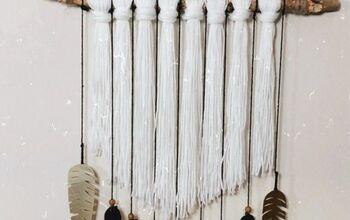 Boho Chic DIY Yarn Wall Hanging