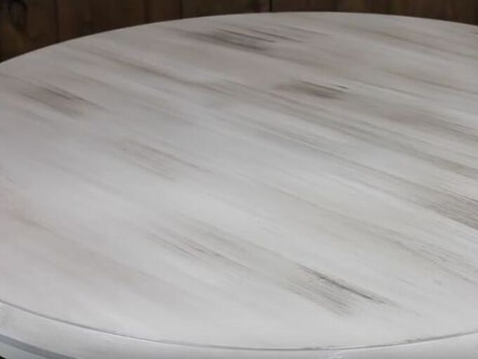 super easy gray barnwood effect