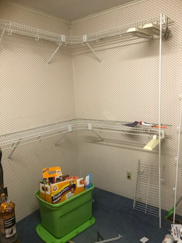 q no more wire hangers i mean shelves