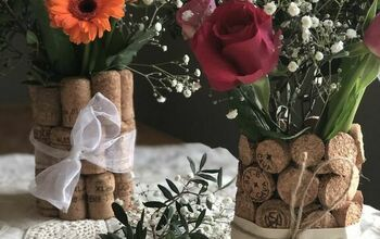 DIY Wedding Centrepieces From Upcycled Corks - Two Methods to Try!