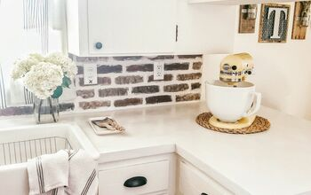 DIY Concrete Overlay Counters #Spring2020Refresh