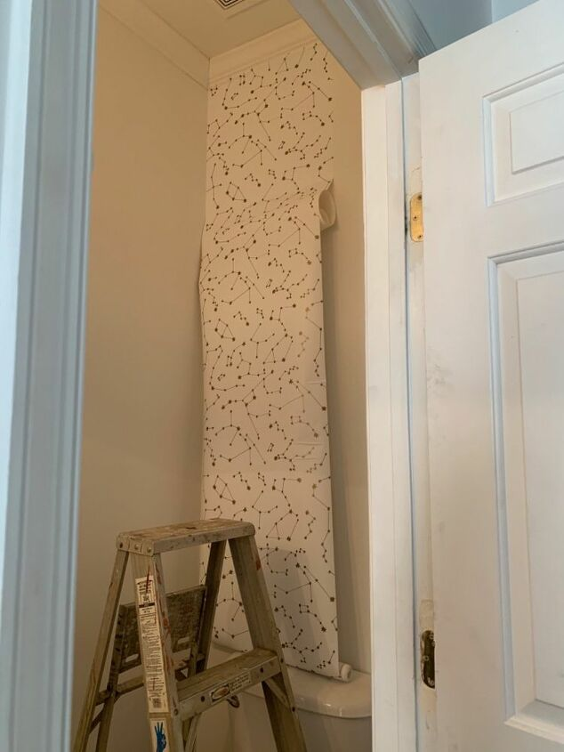 give your wall a lift with peel and stick