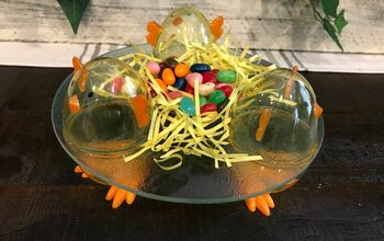 Easter 🐣 Chick Glass Tray