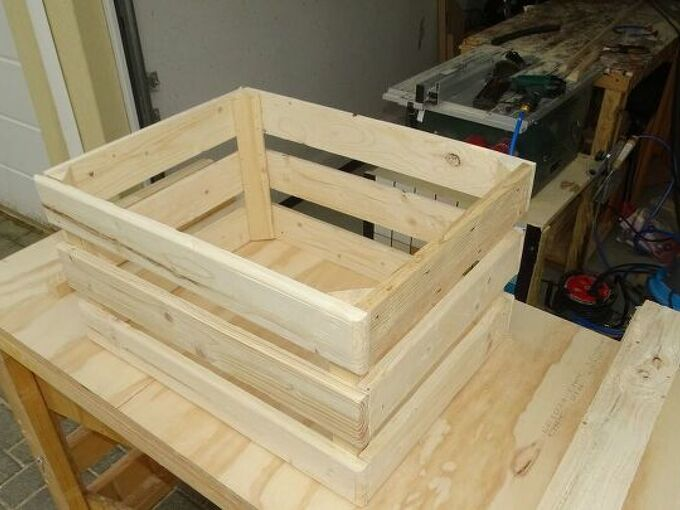 crates boxes from pallet wood how to easily build them