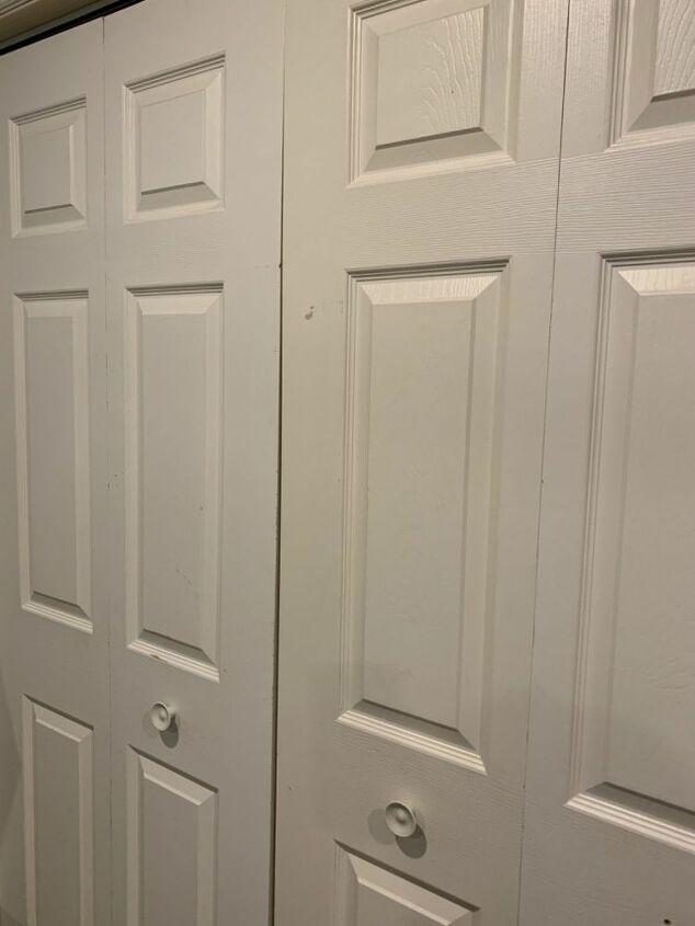 closet door refresh