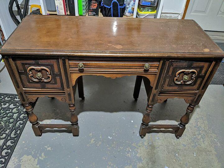 Tired old desk