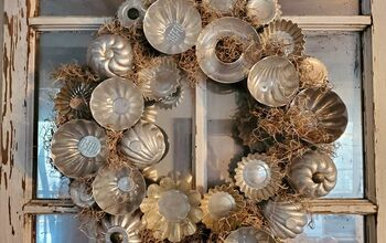 Vintage Tart Tin Wreath