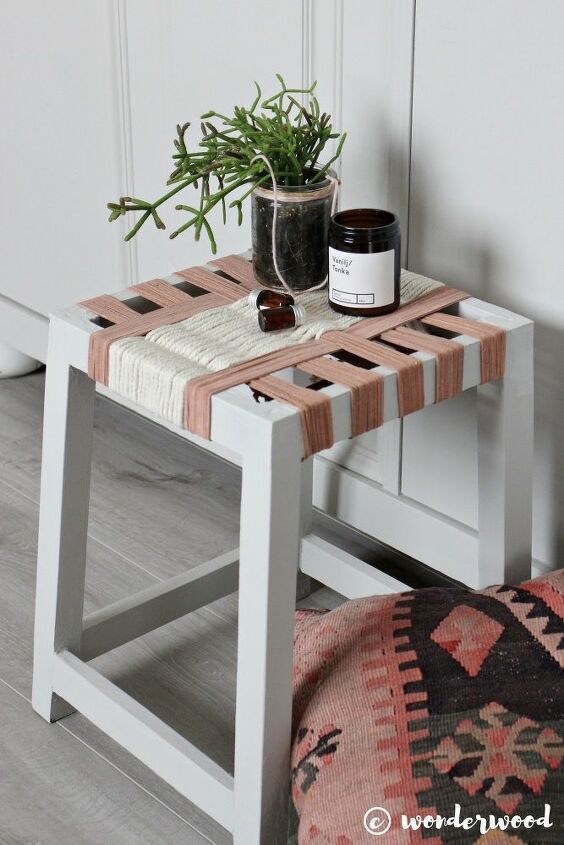 foot stool upcycle