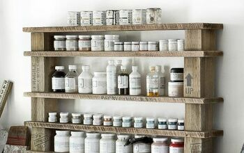 Create an Easy Reclaimed Wood Shelf, With No Building Required!