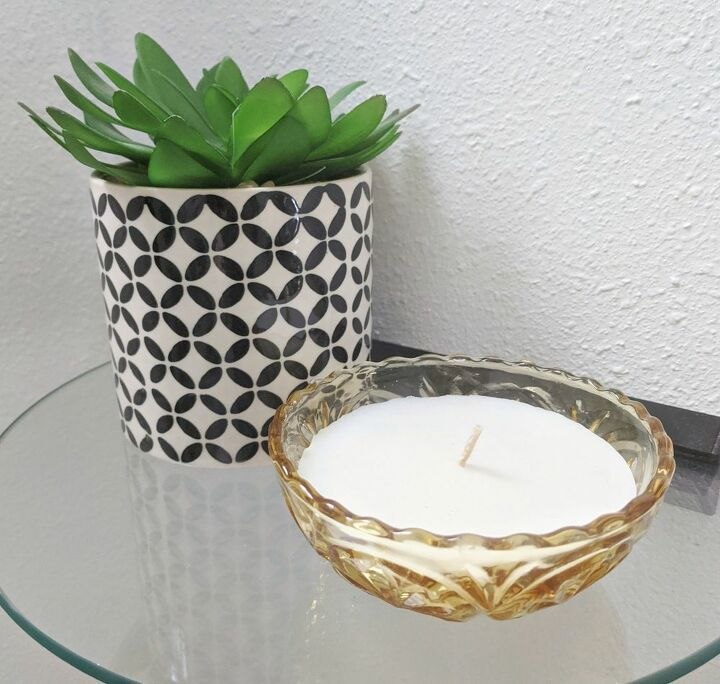 upcycled candles