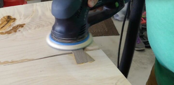 maple slab cabinet counter top part 1