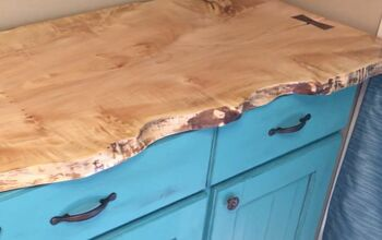 How To Make A Live Edge Maple Slab Cabinet Counter