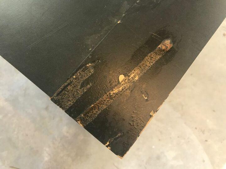 Damage on Top Corner