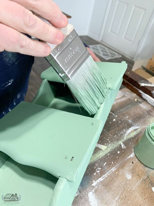 Adding Second Coat of Paint