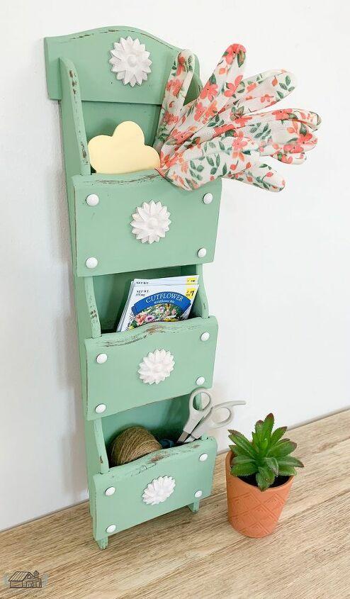 repurposed thrift store mail sorter