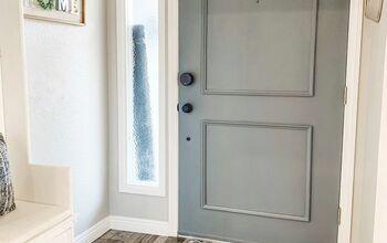 Cost Effective Door Makeover