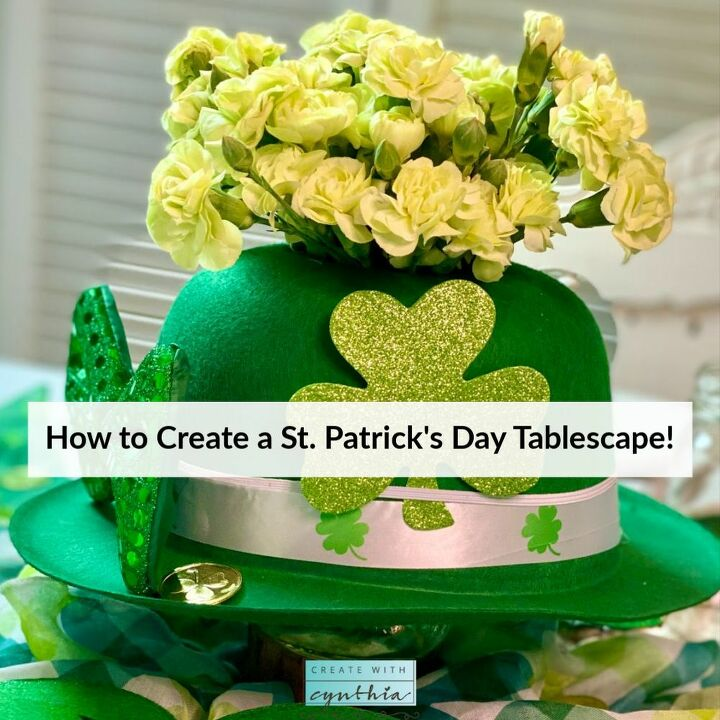 how to create a st patrick s day tablescape