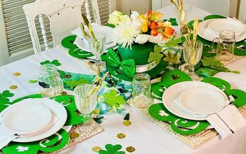 How to Create a St. Patrick's Day Tablescape!
