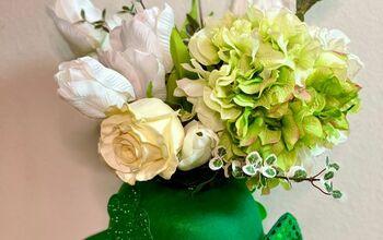 St. Patrick's Day Floral Arrangement!