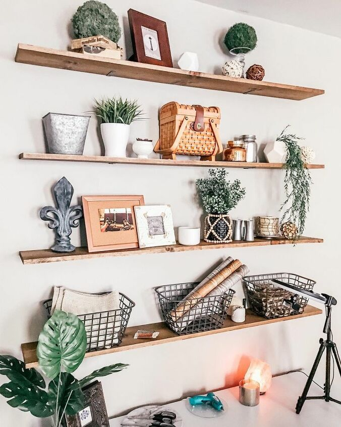 diy cheap and easy shelves