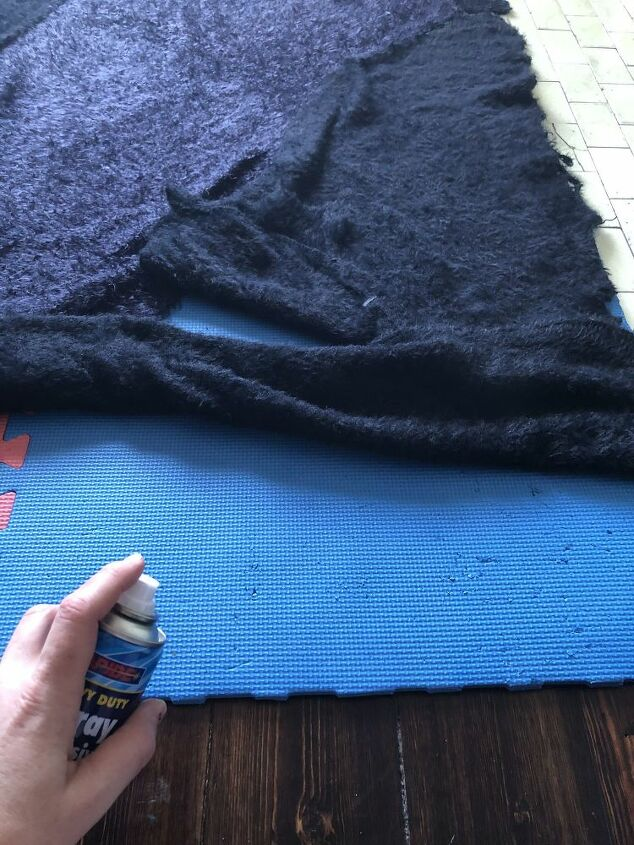 diy rag rug from old sweaters kid s play mats