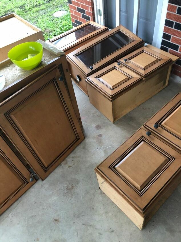 kitchen cabinets to tv console spring2020refresh