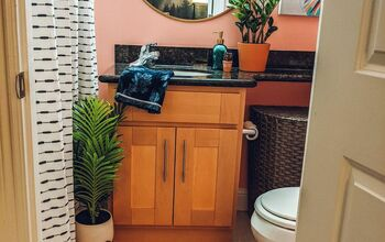 Small Rental Bathroom Makeover