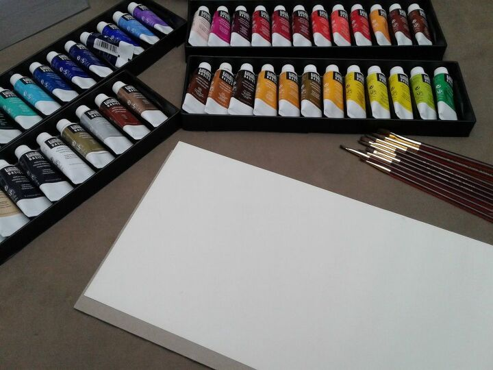 Paint Supplies and Watercolor Insert