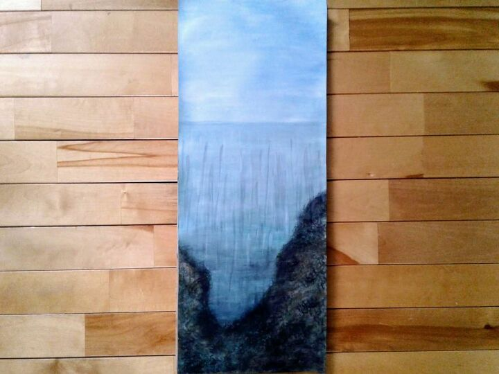 Sky, Ocean and Seabed Painting