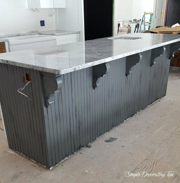 antique inspired kitchen island