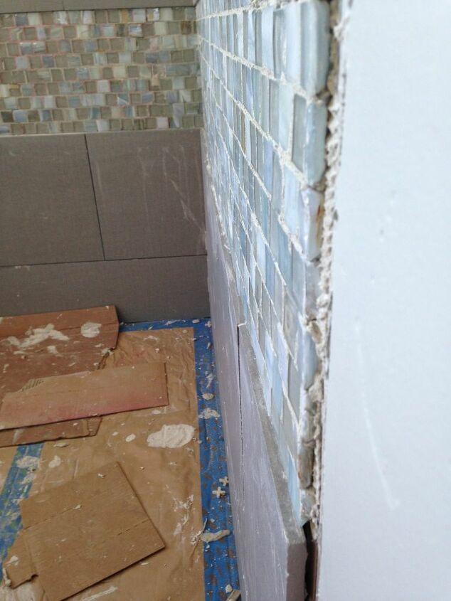 blah beige bathroom to spa bathroom