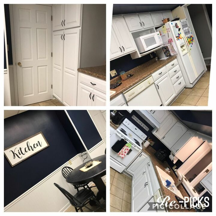 spring2020refresh low cost kitchen makeover