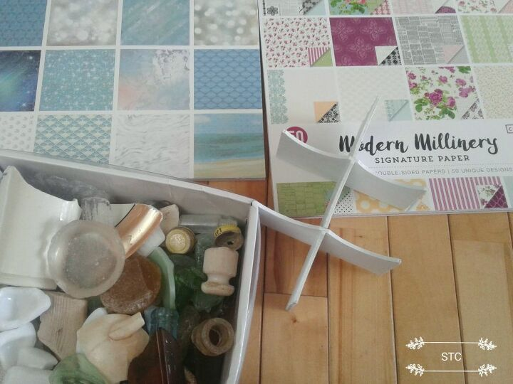 Sea Glass & Scrapbooks